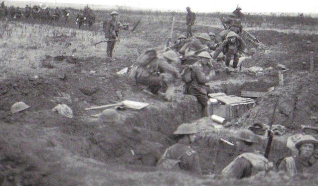 Royal Inniskilling Fusiliers at Cambrai