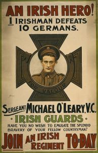 Cork born Michael O'Leary Irish VC winner