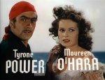 Tyrone Power and Maureen O'Hara Black Swan