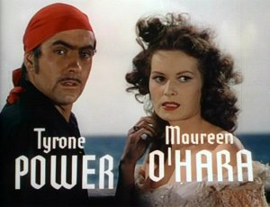 Tyrone Power and Maureen O'Hara Black Swan