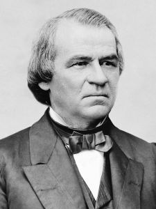 andrew johnson of Irish descent