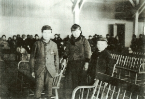 Annie Moore Ellis Island with brothers??