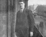 Michael Collins in London for treaty negotiations
