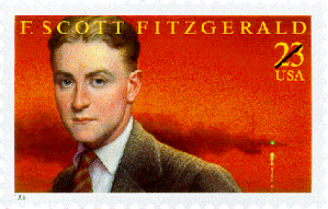 F Scott Fitzgerald Stamp issued 1996