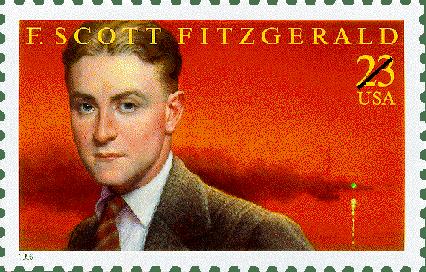 F Scott Fitzgerald Stamp issued 1996