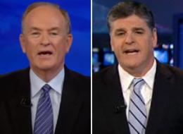Irish American commentators Bill O'Reilly and Sean Hannity