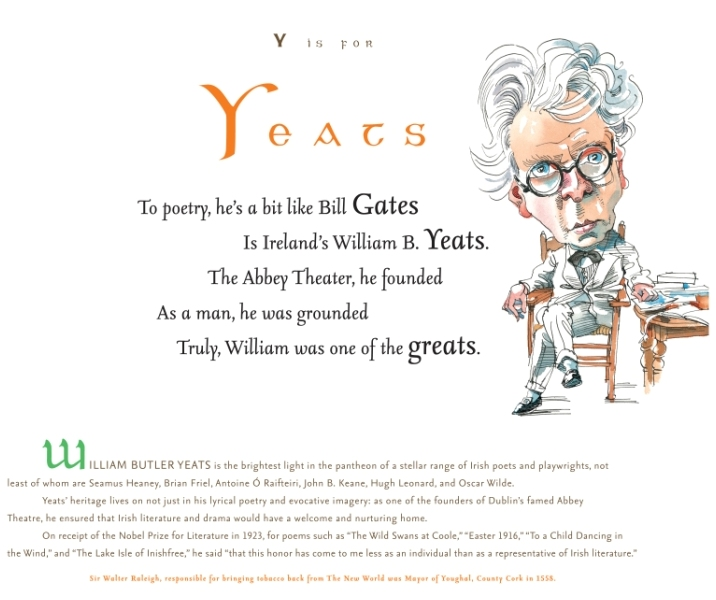 WB Yeats in For the Love of Being Irish