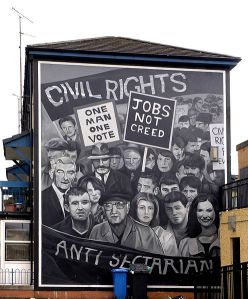 Civil Rights Mural Derry