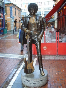 Phil lynott statue Dublin