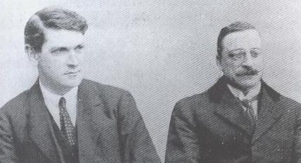 Michael Collins and Arthur Griffith
