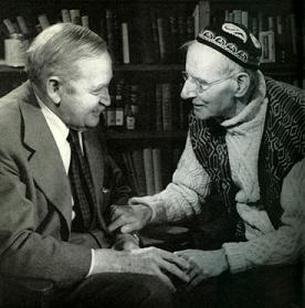 Barry Fitzgerald and Sean o'Casey