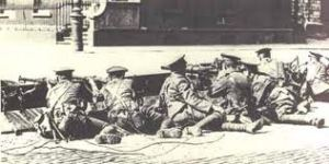 British troops Easter Rising 1916
