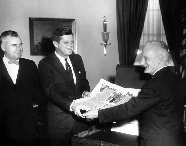 JFK and Ambassador Kiernan