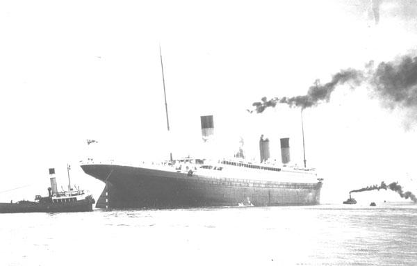 titanic sea trials april 2
