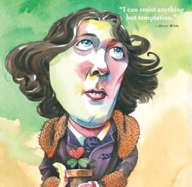 Oscar Wilde image in For the Love of Being Irish