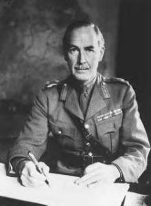 Dublin born General Sir Alan Cunningham 1887-1983