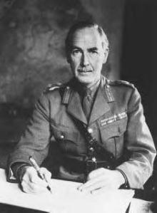 Dublin born General Sir Alan Cunningham 1887-1983