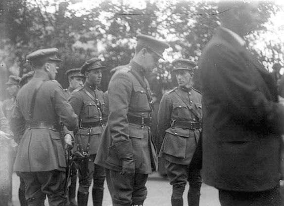 Michael Collins with Richard Mulcahy