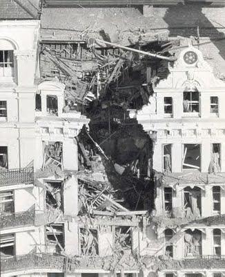 Grand Hotel following IRA bomb
