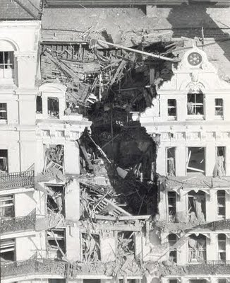Grand Hotel following IRA bomb