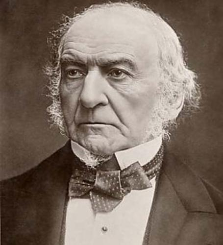william gladstone Sir william ewart gladstone first served as prime minister of great britain starting in december of 1868 during the reign of queen victoria he subsequently served variously as a member of parliament, chancellor of the exchequer, leader of the liberal party, and three more times as prime minister.