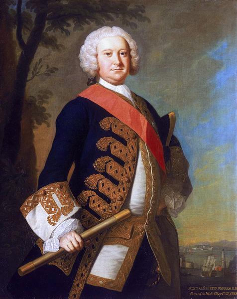 Admiral Si Peter Warren