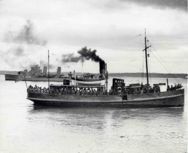 british garrison leaving Spike Island Cork 1938