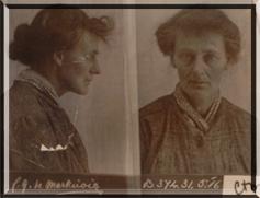 Constance Markievicz mug shot