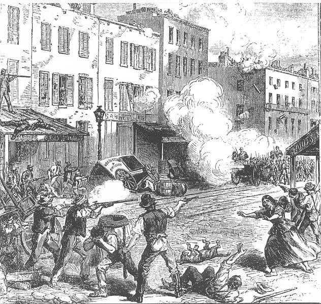 Draft Riots New York 1863