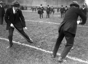 Michael Collins and Harry Boland Croke Park 1921