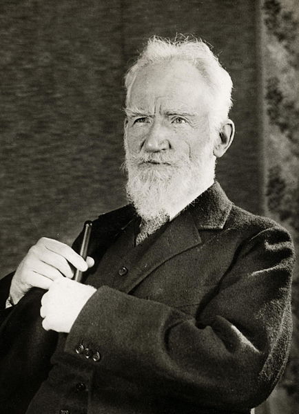 George Bernard Shaw at today in Irish History