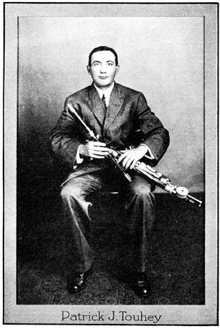 Patrick Touhey Irish Fiddler at today in Irish History