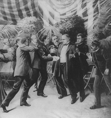 Artist representation of McKinleyAssassination