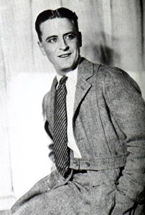 F Scott Fitzgerald Irish American