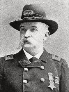 Medal of Honor winner James Quinlan from County Tipperary