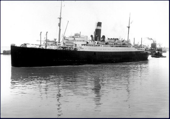 ss athenia ship at today in irish history