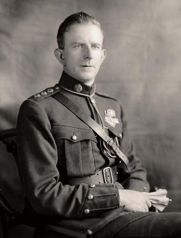 Garda Commissioner Eoin O'Duffy