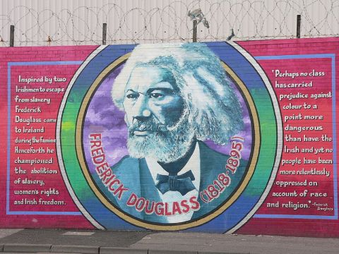 frederick douglass mural belfast ireland