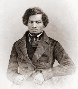 Frederick Douglass - circa visit to Ireland