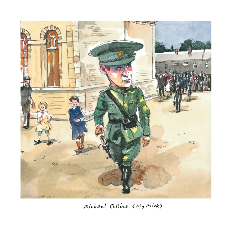 michael collins the man who won the war