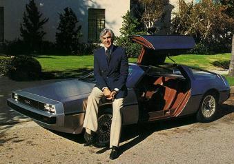 John DeLorean GM executive