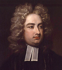 Jonathan Swift Irish writer satirist