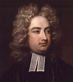 Jonathan Swift Irish writer satirist
