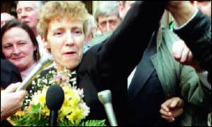 Judith ward wrongfully convicted of M62 bombing