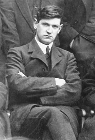 A Young Michael Collins
