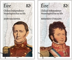 Juan MacKenna and Bernardo O'Higgins Irish Chilean connection