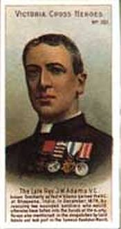 James Adams Cork born VC winner