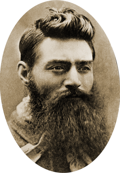Ned Kelly 1854-1855 Australian Irish bushranger and outlaw