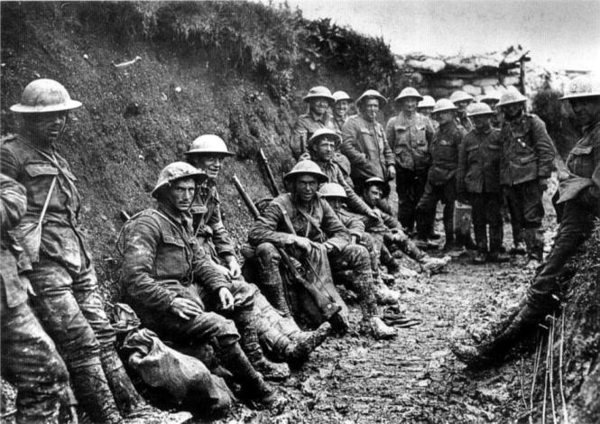 Irish Soldiers at Battle of Somme