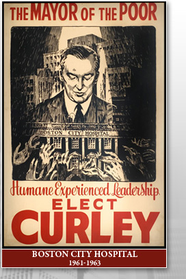 James m curley election poster